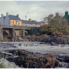 Falls of the River Sneem in the middle of the village