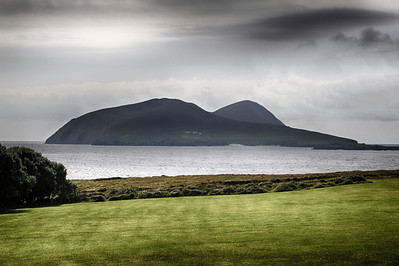 The Blasket Islands, now deserted, off the coast in County Kerry.