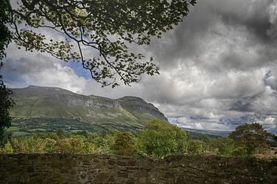 Ben Bulben, site of the grave of William Butler Yeats, County Sligo.