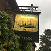 The Ship Inn in Wincle. Built for the farm workers at Brocklehurst's estate. The Nimrod pub sign.