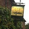 The Ship Inn in Wincle. Built for the farm workers at Brocklehurst's estate. The Nimrod on the sign.