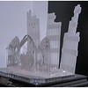 The Waterford Glass Company's tribute to the events of 9/11 and the destruction of the World Trade Center buildings in NYC