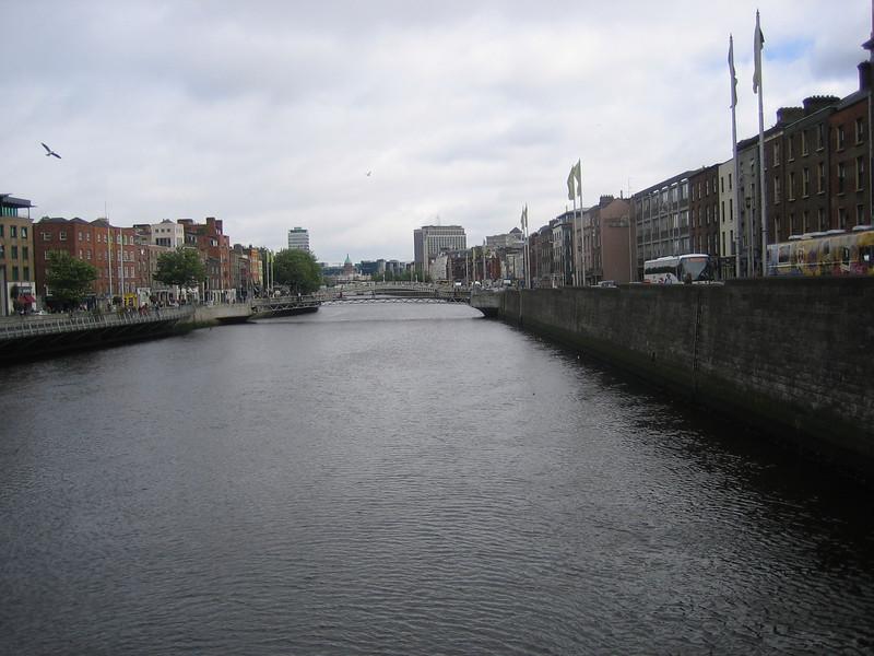The Liffy in Dublin.
