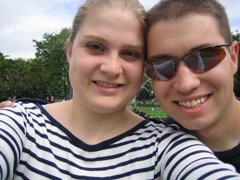 Us at St. Stephen's Green.