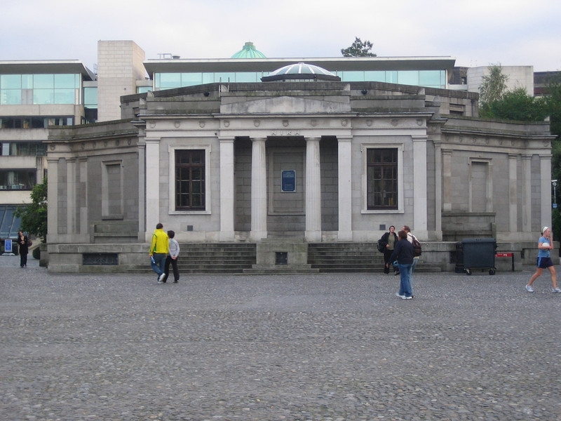 Trinity College.  I think this building is where they keep the Book of Kells but we didn't visit it.