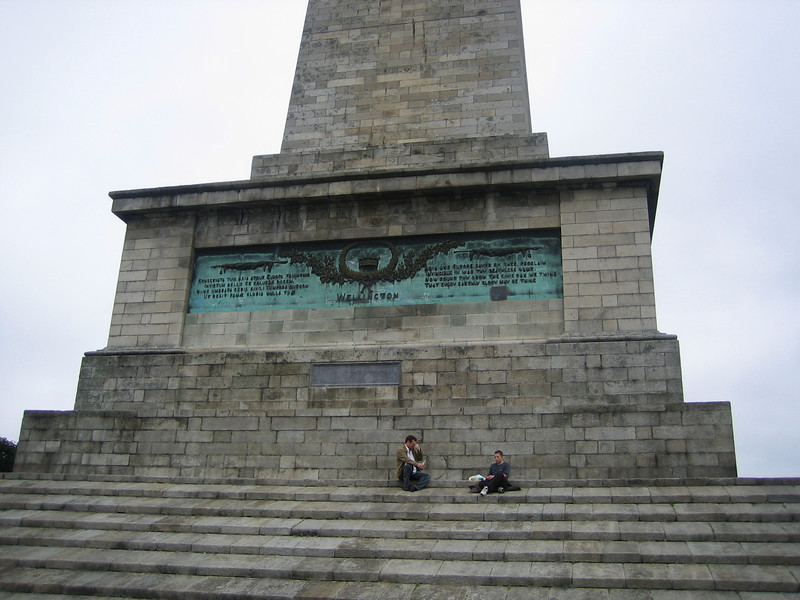 "The Wellington Monument: <a href=""http://en.wikipedia.org/wiki/Wellington_Monument"">http://en.wikipedia.org/wiki/Wellington_Monument</a>"