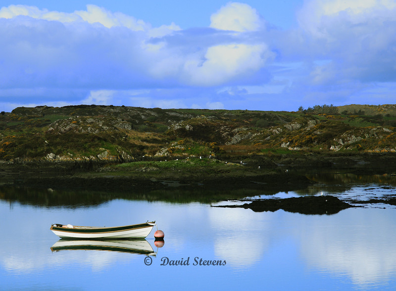 Rowboat, Baltimore, Ireland,County Cork