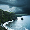 Cliffs of Moher, West Coast of Ireland early April
