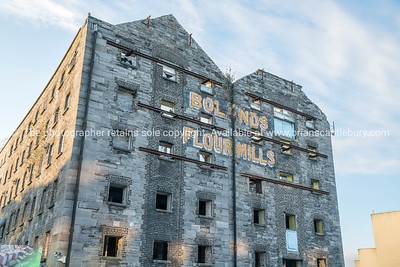 Old building shell, Bolands Flour Mills, Dublin