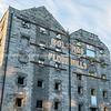 Old building shell, Bolands Flour Mills, Dublin