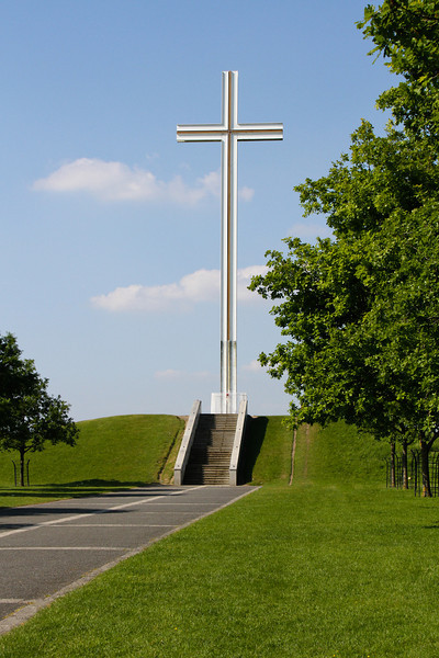 Papal cross in Phoenix Park, outside Dublin.