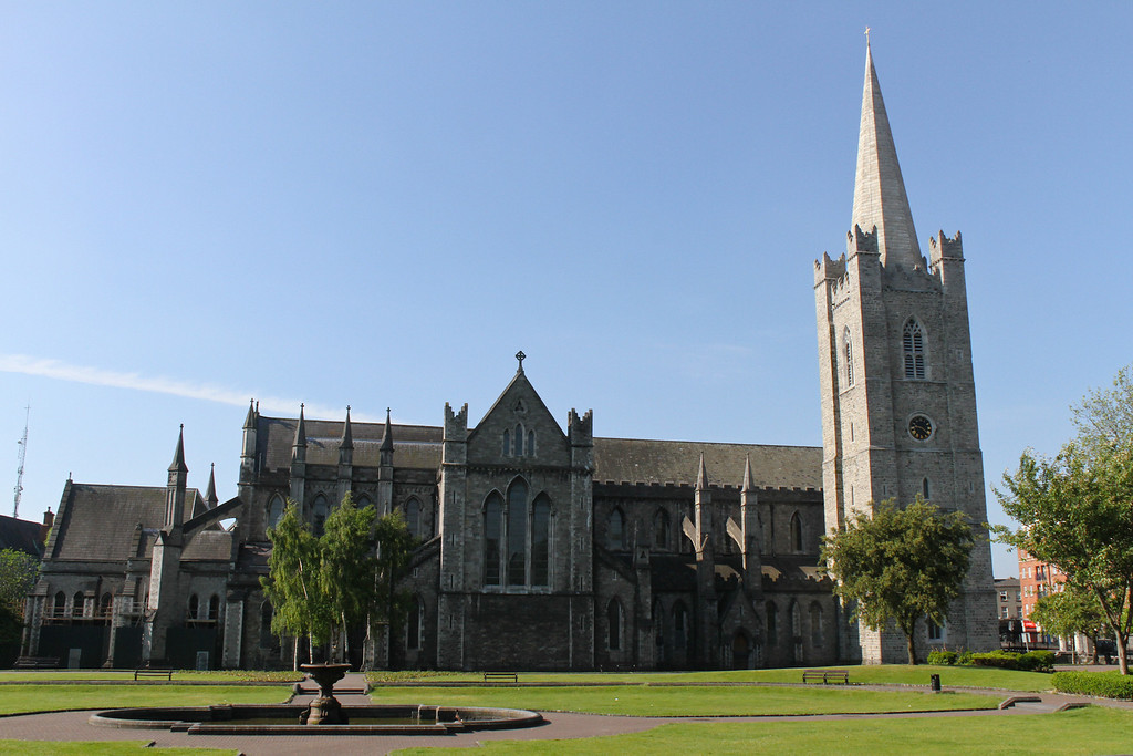 St. Patrick's Cathedral, Dublin.