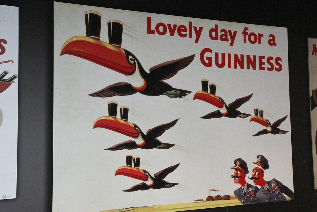 Old Guinness poster.