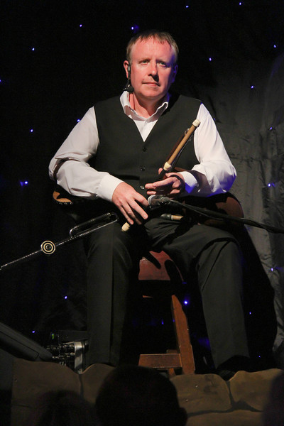 Our evening of Irish Cabaret included a player of the Uilleann pipes, similar to the Scottish bagpipes but use a bellows instead of breath.
