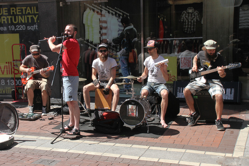 Grafton Street (Dublin) entertainment.
