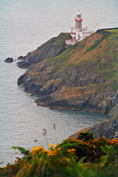 """Baily Lighthouse on Howth - info at:  <a href=""""https://en.wikipedia.org/wiki/Baily_Lighthouse"""">https://en.wikipedia.org/wiki/Baily_Lighthouse</a>"""