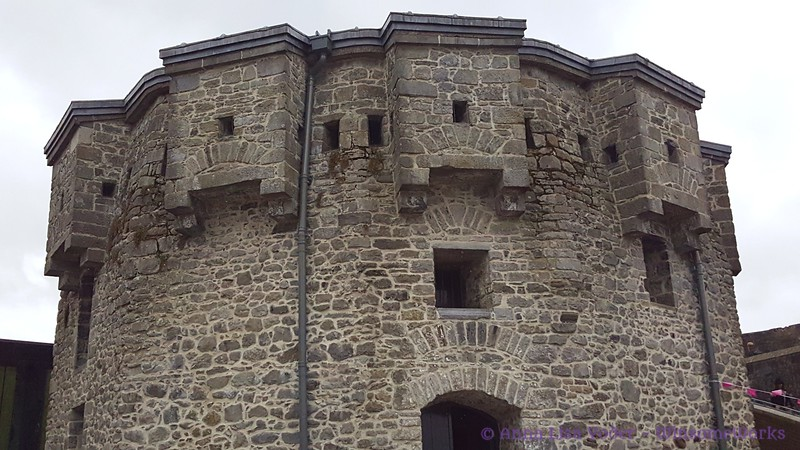 """The """"keep"""" of Athlone Castle - started in the 1100s, it was then built in stone in the yr. 1210"""