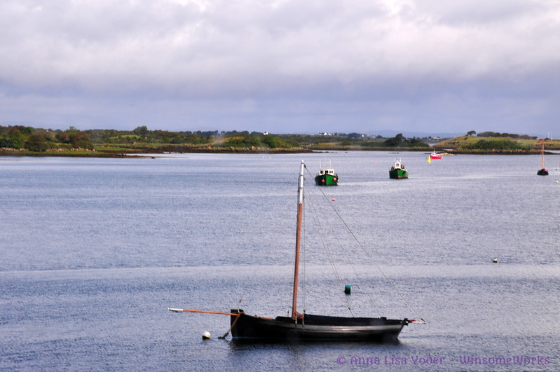 Little boats on Galway Bay