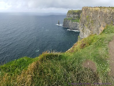 Panorama of Cliffs of Moher