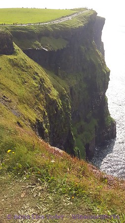 Looking South from top of the Cliffs of Moher