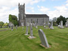 Modreeny Church and graveyard, NW of Cloghjordan, County Tipperary.