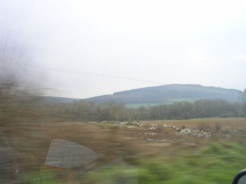 Interesting countryside driving from Dublin to Kilarney.