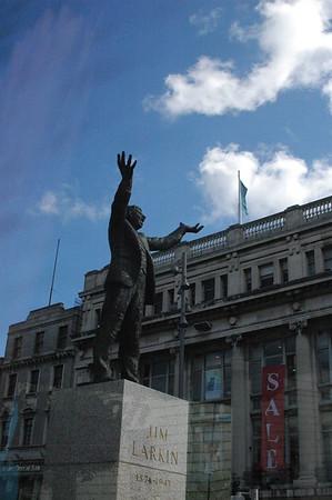 """Big"" Jim Larkin, Irish labor leader and trade union organiser."