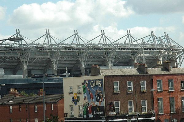 And here's the GAA - the Gaelic Athletic Association at Croke Park.