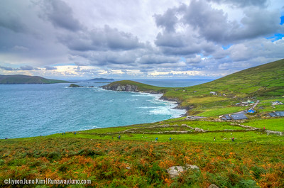 Dunmore Head, the westernmost point on the Dingle Peninsula