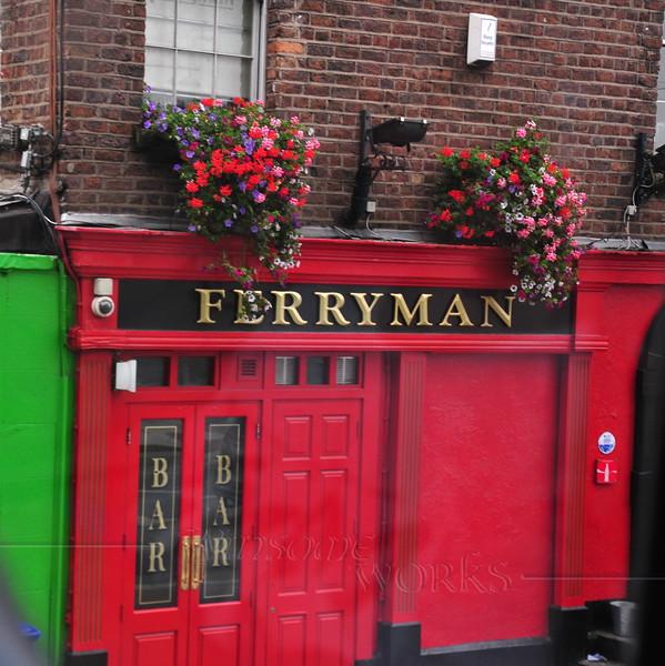 The Ferryman closeup