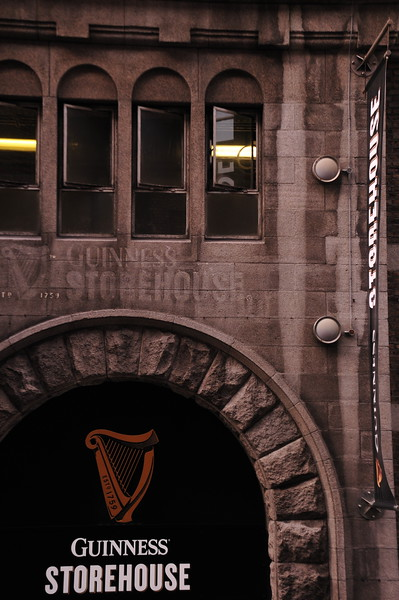 Storehouse at the Guinness Plant