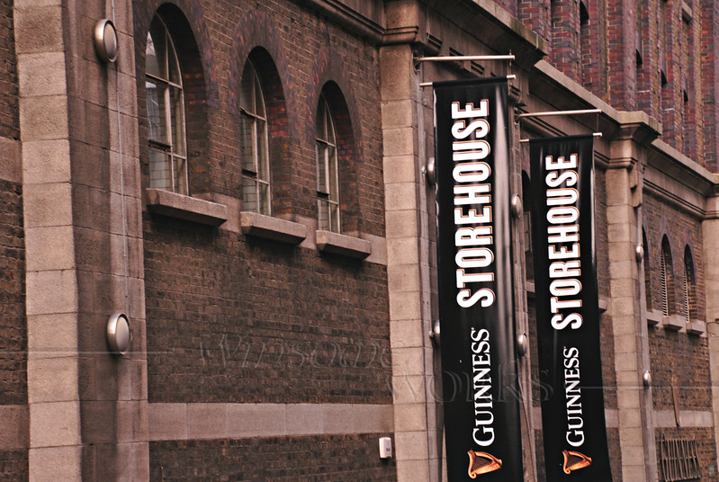 Storehouse at the Guinness Plant   [fx]