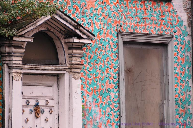 Abandoned building, Dublin