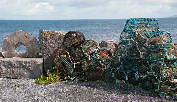 Lobster traps on Inis Oirr