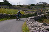 Xavier biking on Inis Oirr