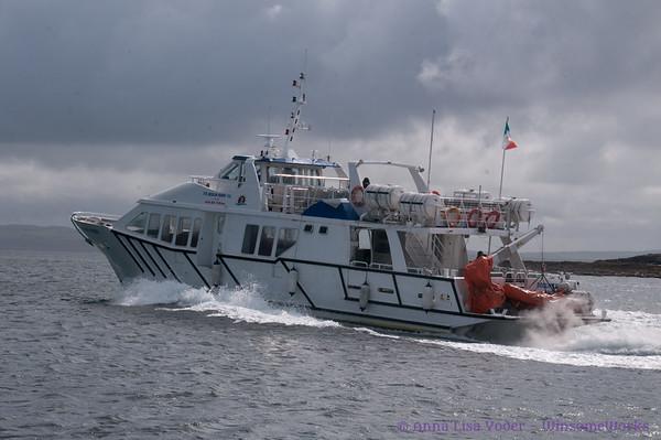 An Aran Isles ferry