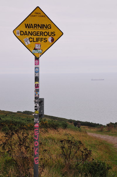 Warning!  Dangerous Cliffs