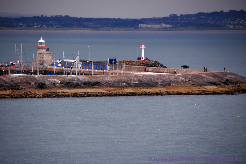 Howth Light seen from Harbour Rd. near beginning of Cliff Path