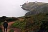 Xavier on Cliff Path