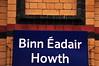 DART station at Howth (aka Binn Eadir)