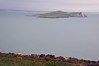 Ireland's Eye viewed from Cliff Path on Howth Head