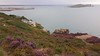 View of Balscadden Bay, Pucks's Rocks, the Nose of Howth, & Ireland's Eye from the Cliff Path