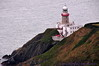 Telephoto view of Baily Lighthouse, from Cliff Path