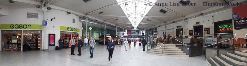 Train station in Dublin