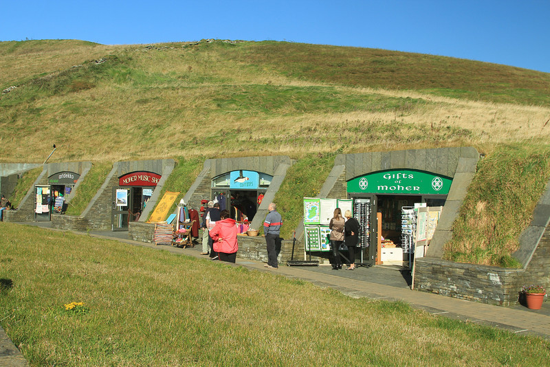 Cliffs of Moher shops.