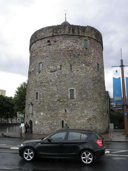 Reginald's Tower and Somebody's Car, Waterford, Ireland