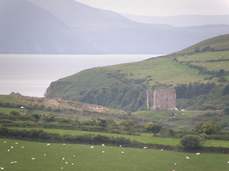 Minard Castle, Dingle peninsula, Ireland
