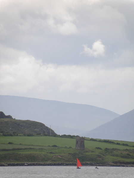 Lough Tower, near the entrance to Dingle harbor