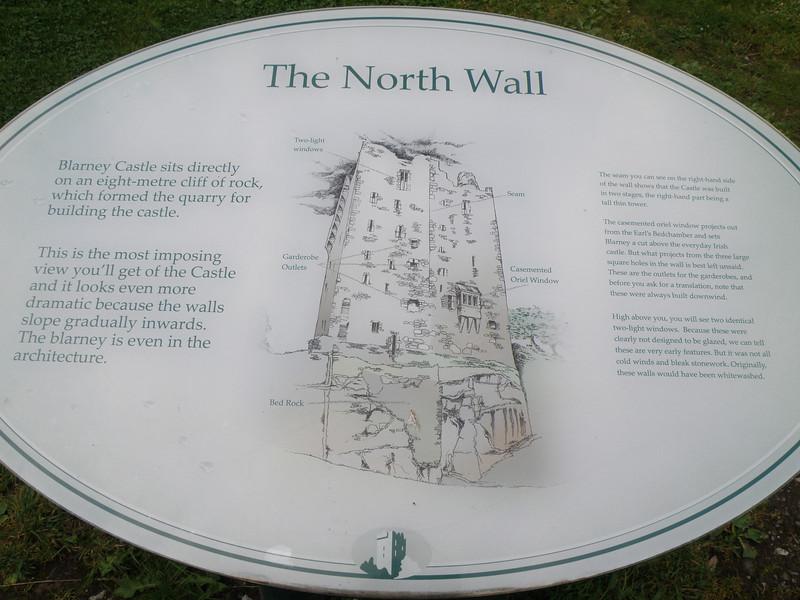 Blarney Castle signage