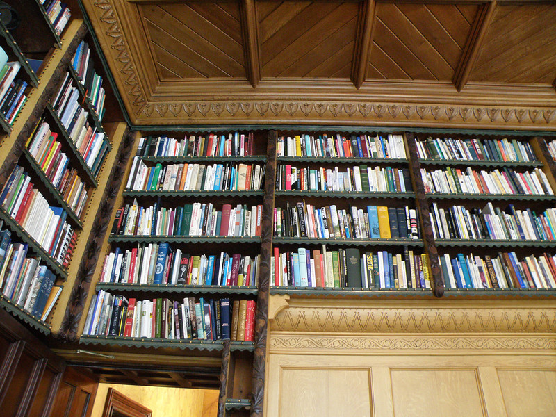 Library, Turlough Park House